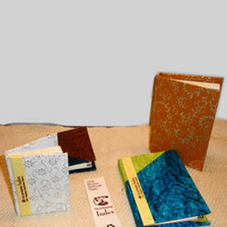 Fancy Handmade Paper Address Book