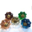 Colorful Glass Crystal Knob