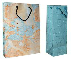 Marbled Paper Bags