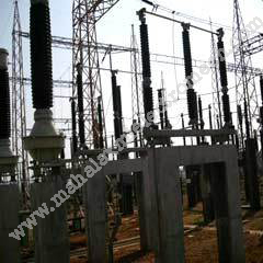 EHV Substation With Isolators