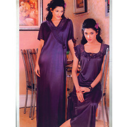 Purple Night Gowns