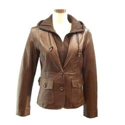 Ladies Leather Jacket-FCL J 005