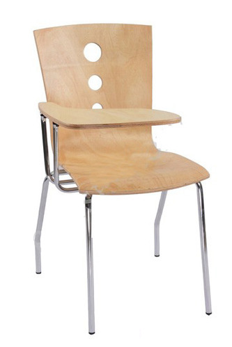 School Chair With Writing Desk