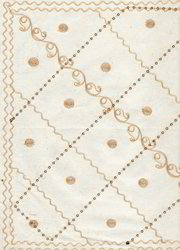 Embroidered Scrapbook Paper