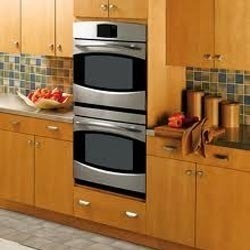 Small stainless steel built in microwave