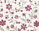 floral design block printed papers