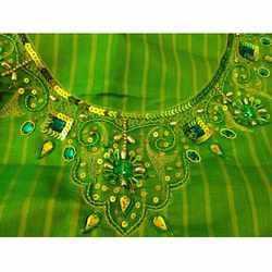 aari embroidery work cloth