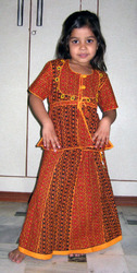 Kids Girls Lehenga Choli Dress