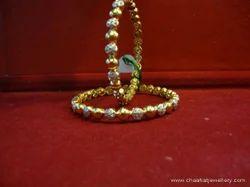 Silver American Diamond Bangles