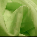green organza fabric