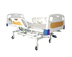 Intesive Care Bed with Swing Type Important Railing