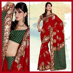 Designer Chanderi Saree