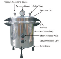 Stainless Steel, Autoclave And Sterilizers
