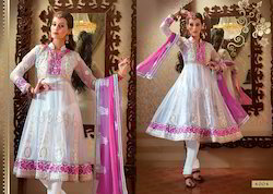 Unstitched Party Wear Salwar Suit