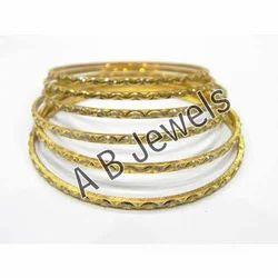 Gold Rhodium Bangles
