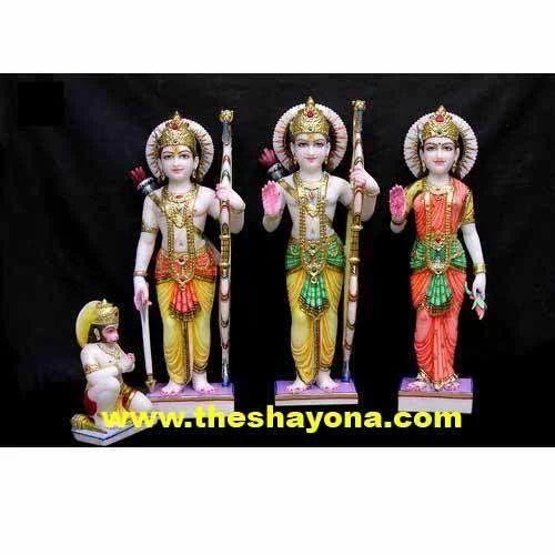 Ram Darbar With Hanuman