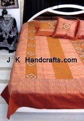 Decorative Brocade Silk Bedding Set