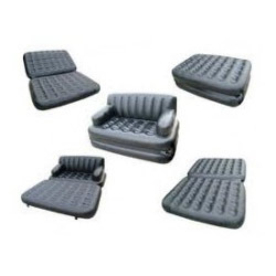 5 In 1 Air Sofa Bed Inflatable Pull Out Mat
