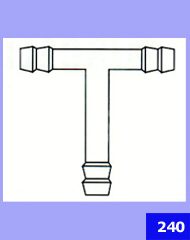 Connection Tube T-Shape