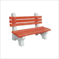Concrete Garden Furniture RCC Garden Bench With Arm Rest