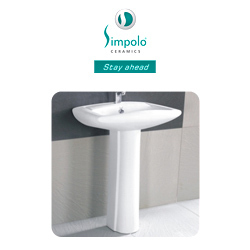 Simpolo Wash Basins- Pedestal