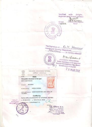 Ministry Of Foreign Affairs Attestation Degree