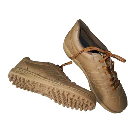 Brown Shade Leather Sport Shoes