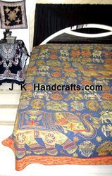 Banjara Bohemian Patchwork Bed Cover Bedding Bedspread