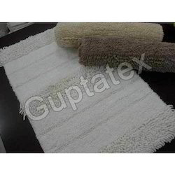 Shaggy Cotton Bath Mats