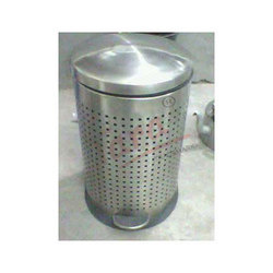 Perforated Pedal Bin
