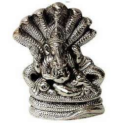 Lord Ganesha On Sheshnag