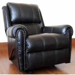 recliner leather sofa