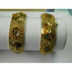 Kada with Jali Work