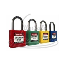 long regular shackle padlock