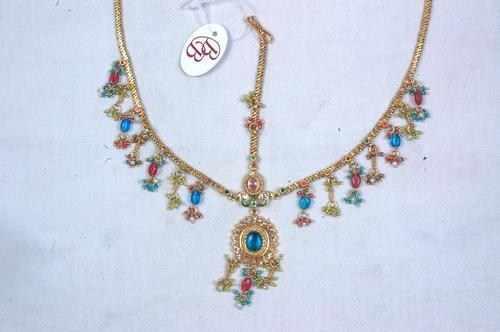 Jewellery Stand Designs : Single string necklaces single stand designer necklaces