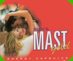Slim Mast Gold (Energy Capsule)