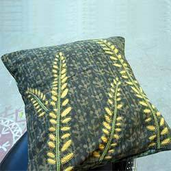 Fern Reverse Applique Cushion Covers