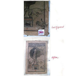 Paper Miniature Painting Conservation Service