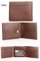 Brown Nappa Leather Wallet