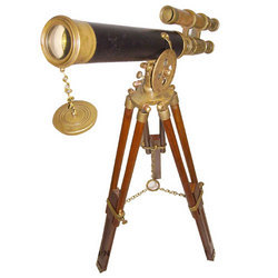 Brass Tripod Telescopes