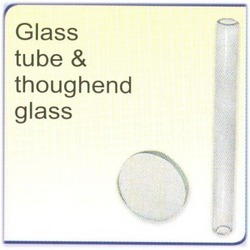 Glass Tube and Toughened Glass
