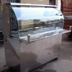 Stainless Steel Counter For Tikki Chaat