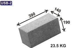 Rectangular Concrete Block