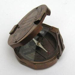 Brunton Compass With Wooden Box