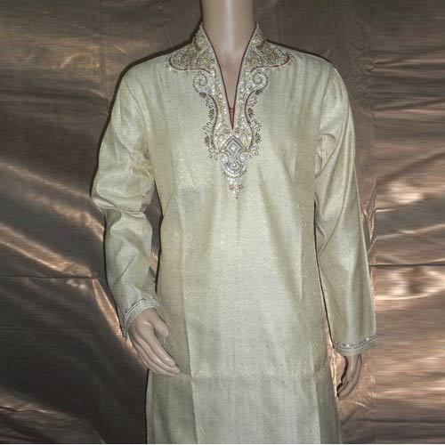 6e69a93163 Hand Embroidered Kurta Pajyama - Embroided Kurta Pajyama Manufacturer from  New Delhi