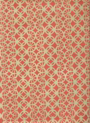 Indian Design Screen Printed Handmade Paper