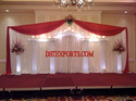 Elegant Wedding White Stage Set