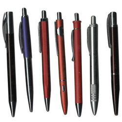 Satin Chrome Ball Pens
