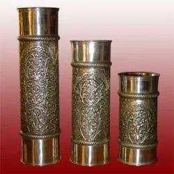 Metal Decorative Vases