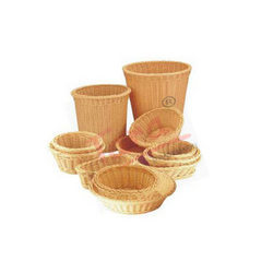 Round/Oval Polypropylene Rattan Basket